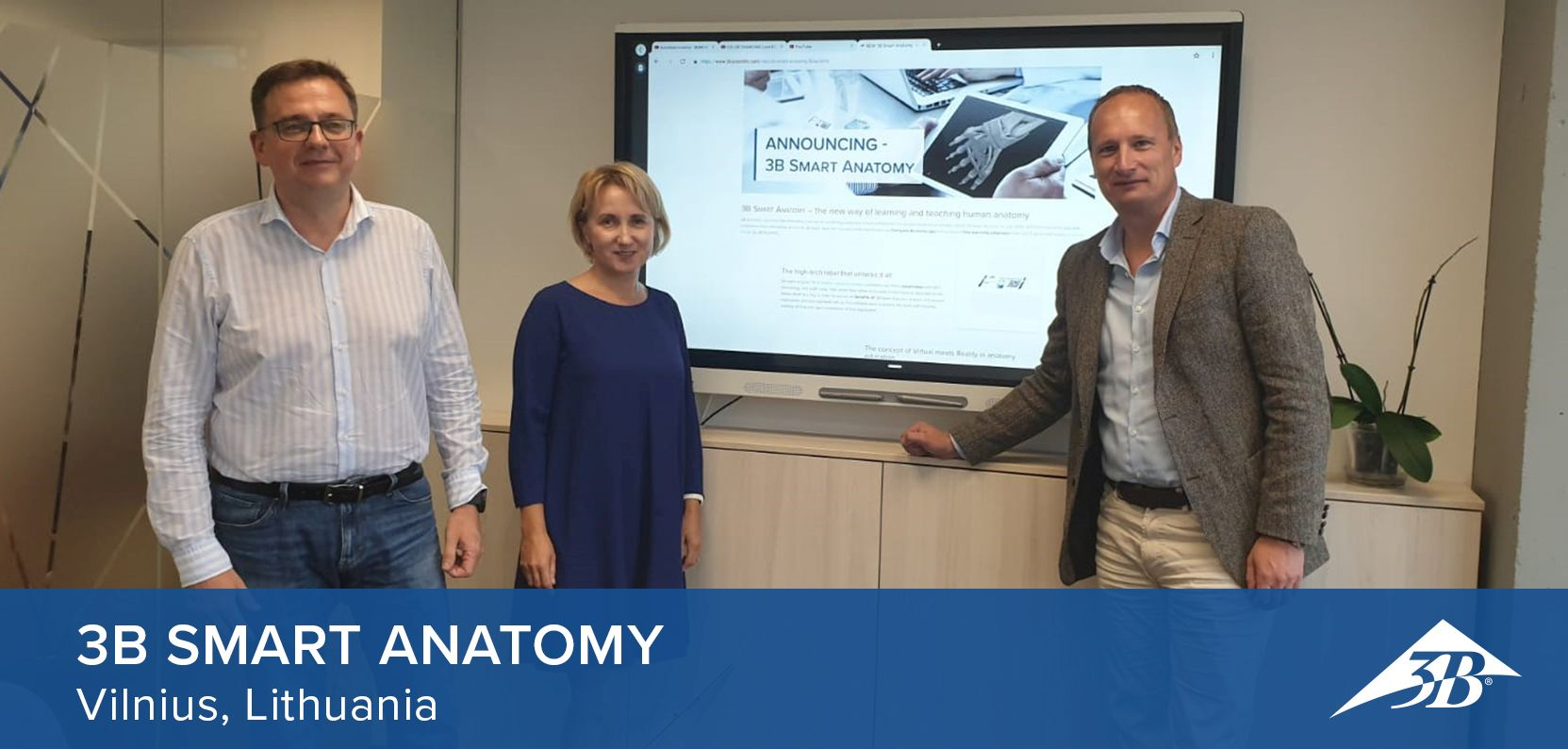 3B SMART ANATOMY in Vilnius
